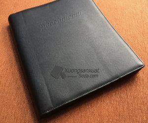 Làm Bìa Menu Da, Bìa Kẹp File, Bìa Hồ Sơ Theo Yêu Cầu Tại Tp.HCM