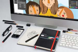 Kết hợp hoàn hảo của Moleskine và Adobe