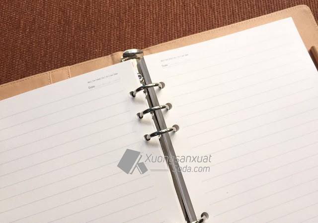 Mẫu giấy sổ tay không in ấn có sẵn