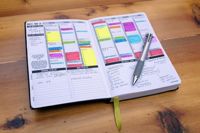 Passion Planner sổ tay công việc – ý tưởng