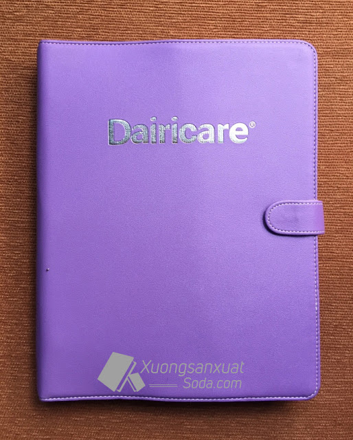 Bìa hồ sơ ép nhũ bạc Dairicare