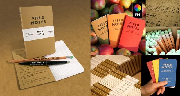 Sổ Tay Field Notes, Thương Hiệu Sổ Tay Bỏ Túi Hàng Đầu Thế Giới