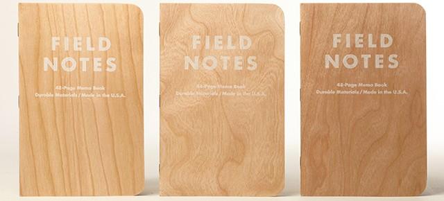 Sổ Tay Ghi chú Field Notes Bìa Gỗ Bạn Có Thể Mua Tại Úc