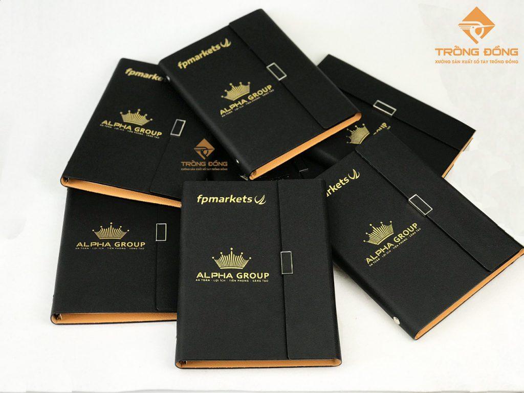 Sản xuất sổ tay theo yêu cầu làm quà tặng đối tác, khách hàng cho doanh nghiệp