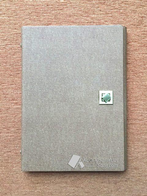Sổ Tay Bìa Còng 6 Lỗ Da Pu Cao Cấp 127