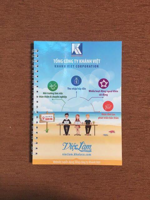 Sổ lò xo 42 của công ty Khánh Việt