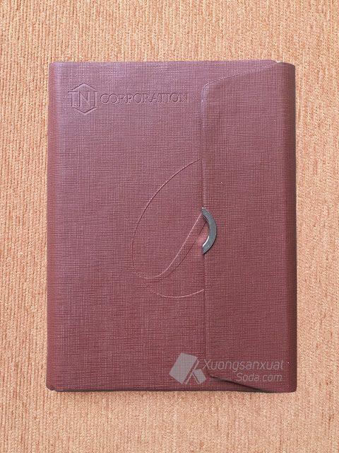 Sổ Bìa Da Quà Tặng TNI Corporation 141