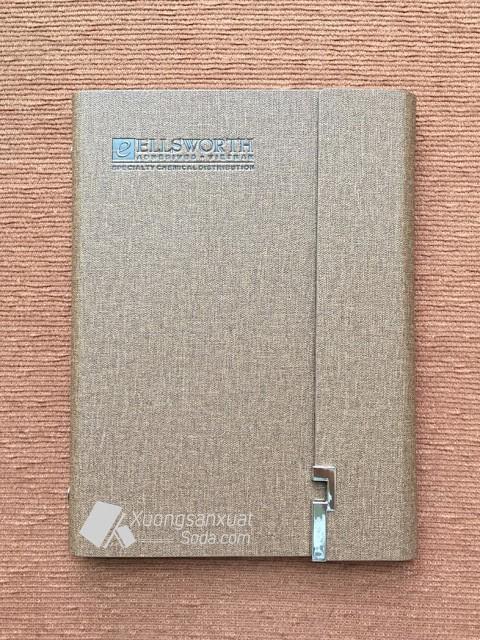Sổ Còng 6 Lỗ Bìa Da Pu 142, Sổ Da Ellsworth Việt Nam