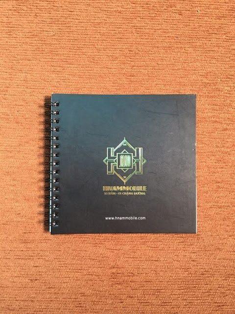 Sổ tay Hnam Mobile – Sổ bìa lò xo 41