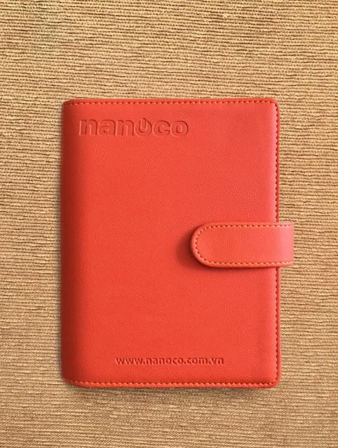 Sổ Còng A6 Bìa Da Simili Nanoco 150
