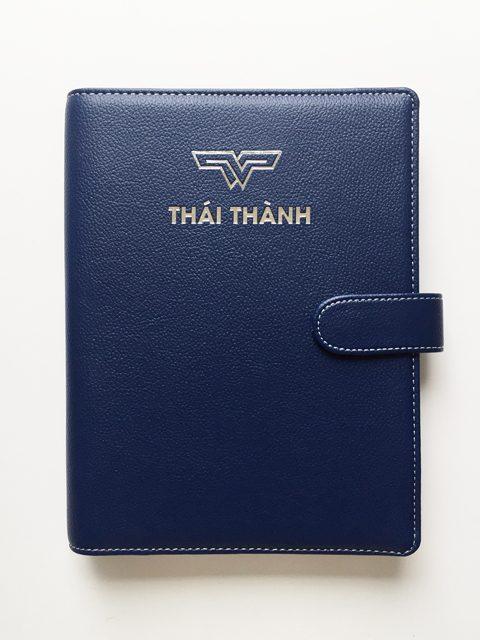 Bộ Gift Set Sổ Da Thái Thành 167 Sổ Còng + Hộp Giấy