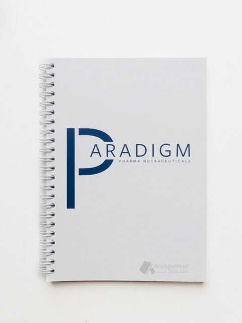 Sổ Tay Lò Xo Bìa Giấy Couche Paradigm 170