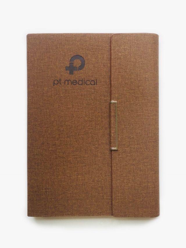 Sổ Bìa Da Pu 175 – Sổ Tay Bìa Da Cao Cấp