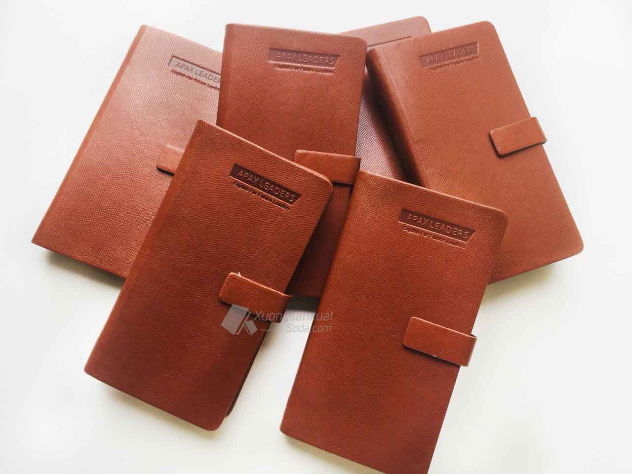 Tổng Hợp Các Mẫu Sổ Bìa Da Có Sẵn Giá Rẻ Được Ưa Chuộng