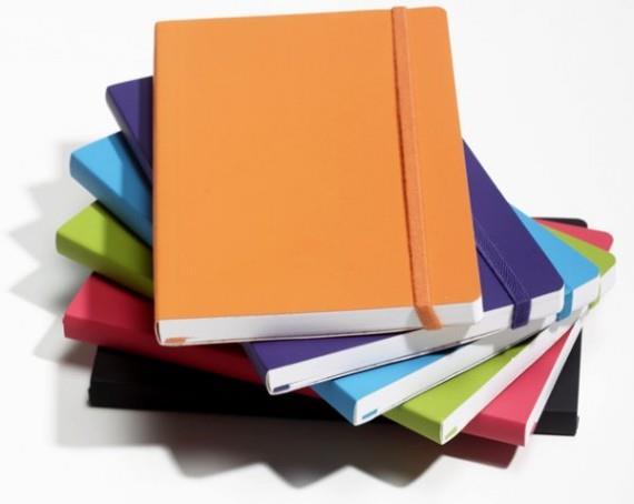 Sổ dán gáy phù hợp viết nhật ký