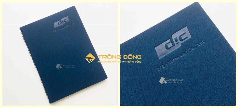 Công nghệ ép lún logo Công Ty TNHH DIC Việt Nam