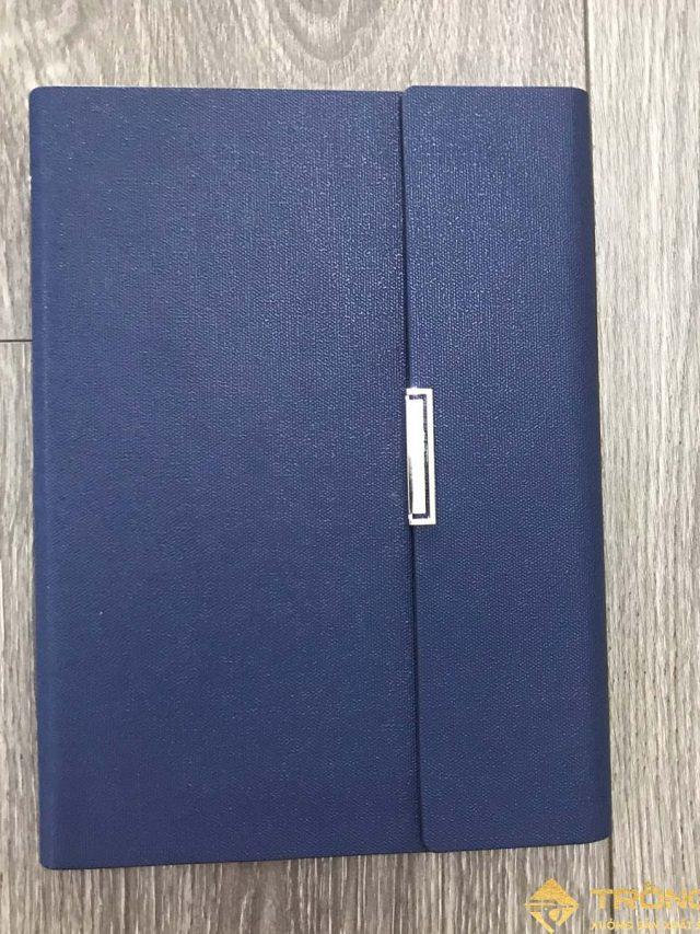 Sổ Lăn Sơn A5 Gập 3 Còng 1.5cm Màu Xanh – Mã LSA5-01B