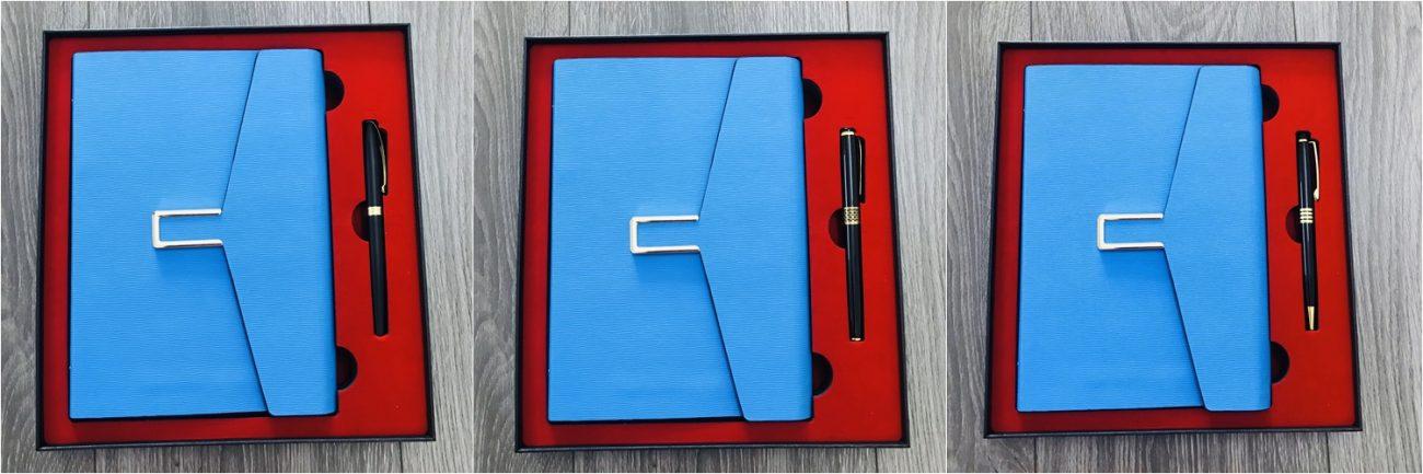 Bộ Giftset sổ tay và bút ký quà tặng mẫu 003