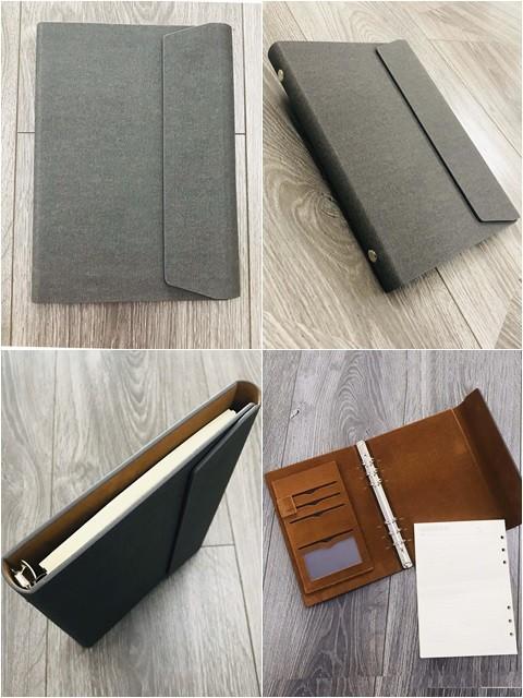 Sổ Lăn Sơn Gập 3 Còng 1.5cm Hình Thang– LSA5 Hình Thang B