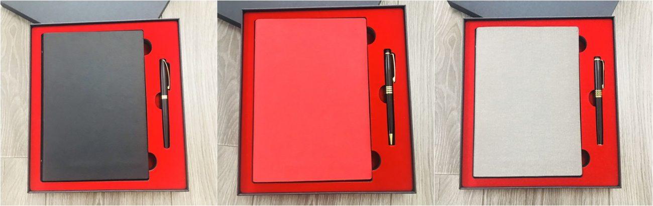 Bộ quà tặng bút bi và sổ tay mẫu 006