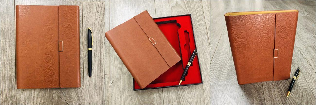 Bộ quà tặng bút và sổ tay mẫu có sẵn 007