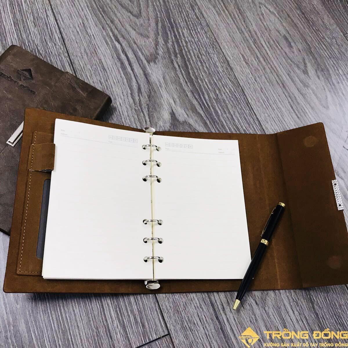 Phần ruột sổ của mẫu sổ tay LSA6-01B