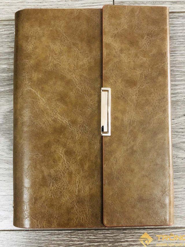 Sổ Lăn Sơn A6 Gập 3 Còng 1.5cm – LSA6-01B